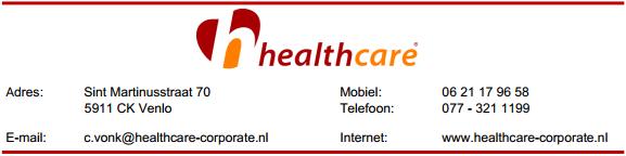 Healthcare - Corporate BV